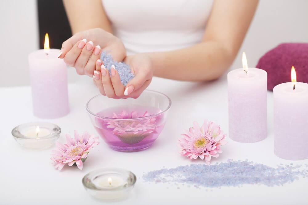 jakie sole możemy wykorzystać do kąpieli stóp