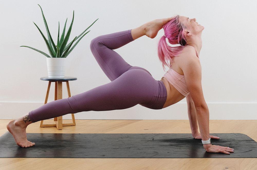 ćwiczenie bez obuwia